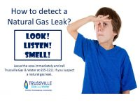 How to detect a Natural Gas Leak? Look! Listen! Smell!